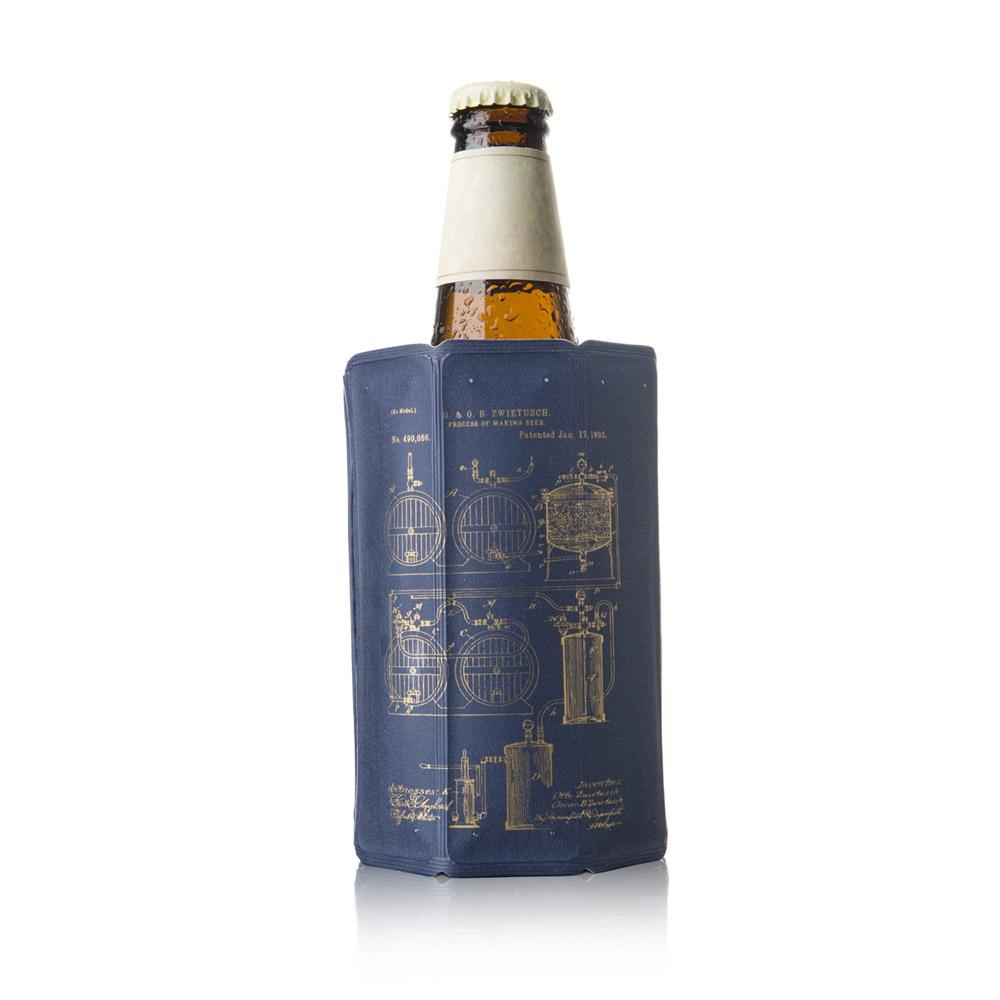 Bleu Vacuvin Refroidisseur /à Bi/ère